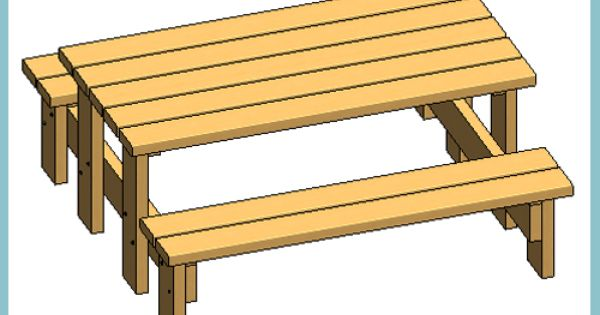 Sinue graff timber picnic table autodesk revit for Outdoor furniture revit