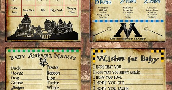 shower pinterest harry potter baby shower and baby shower games