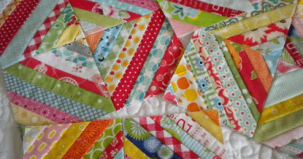 String Quilt Blocks--A Tutorial (A Quilting Life) String