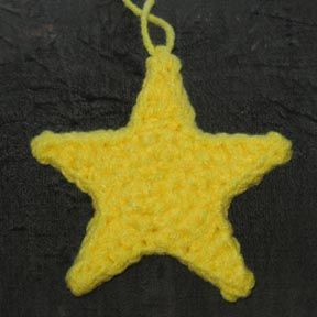 Easy Crochet Star Pattern - Crochet 365 Knit Too | 288x288