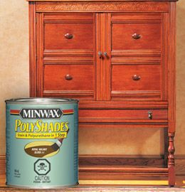 Minwax Polyshades Change The Look Of Pre Stained And Or Poly D