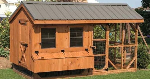 Fine Chicken Coop Shed Combo Photos Lovely Chicken Coop Shed Combo Or Cedar Stained Chicken Coop Building A Chicken Coop Backyard Chicken Coops Poultry House