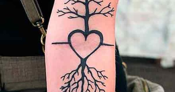 tree roots tattoo designs | Bridal and Fashion: Tree of Life Tattoo