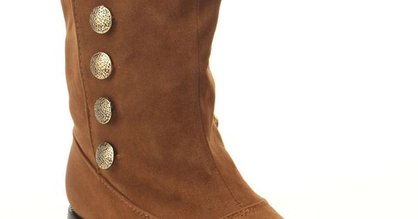 Bucco Jessica Boots In Tan