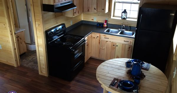7 Beautiful Cabin Kitchens Bonus Basement Bar Wood Tex
