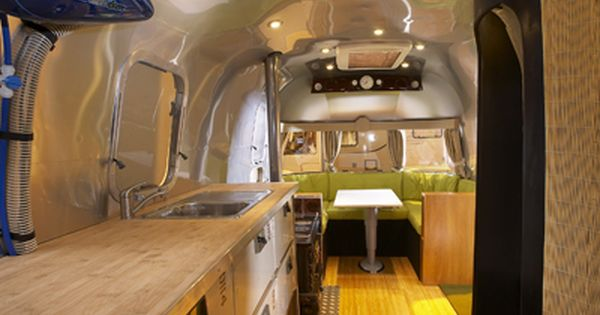 Airstream Design Cool Airstream Remodels  Airstream Design Within Reach Trailer .