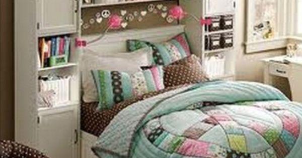 habitaciones juveniles modernas con repisas para mujer ...