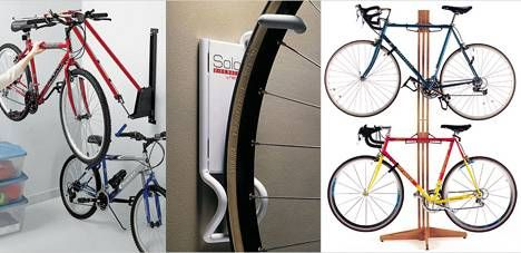 10 Ways To Hang Your Bike On The Wall Like A Work Of Art Bicycle Storage Bicycle Storage Rack Bike Room