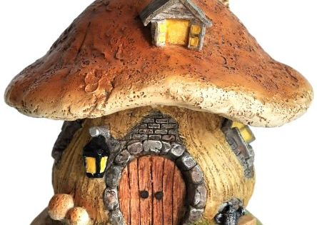 Top Collection Miniature Fairy Garden and Terrarium Mushroom Fairy House Statue Top ...