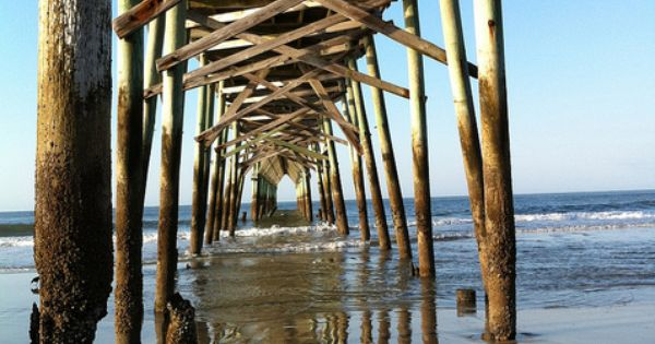 Holden beach pier on the coast of north carolina a for Holden beach fishing pier