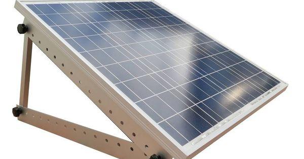 Adjustable Solar Panel Mount Mounting Rack Bracket Boat Rv Roof Off Grid 617209854800 Ebay Solar Panels Best Solar Panels Solar Panel Mounts