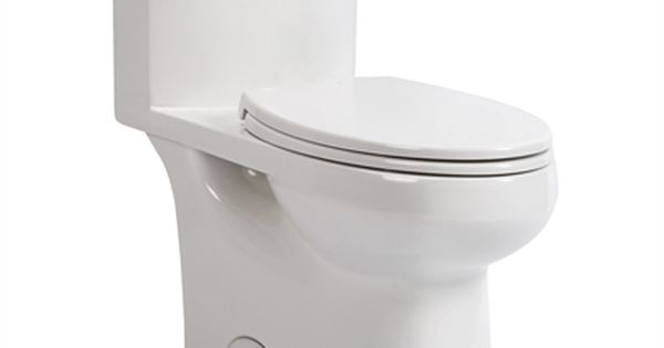 Pfister Solita 1 28 White Watersense Elongated Chair Height 1 Piece Toilet Toilet Renovation Hardware Chair Height