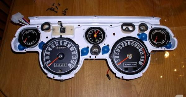 1967 1968 Shelby Mustang Gauge Clusters W Tach The Best Anywhere Mustang Shelby Mustang Shelby