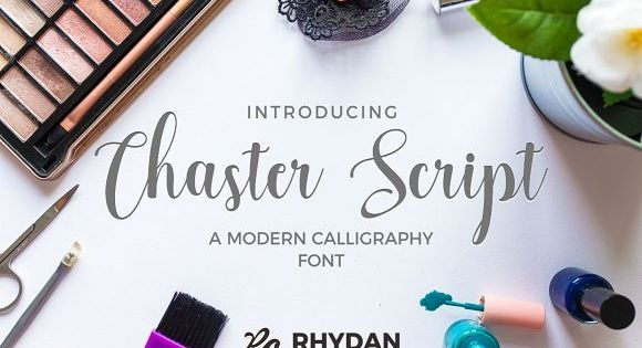 Chaster Script – Chaster Script is modern calligraphy font