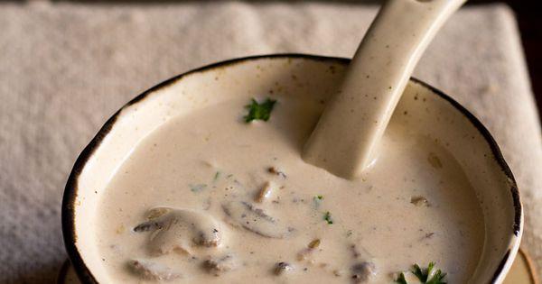 cream of mushroom soup – a one pot quick and easy recipe