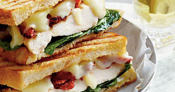 Oh-So-Good Panini Recipes | Chicken Panini, Paninis and Basil