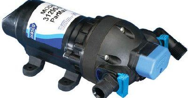 JABSCO PARMAX 1.9GPM AUTOMATIC WATER PRESSURE PUMP