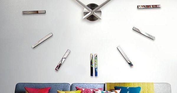 Ft2m horloge murale design silver acheter en ligne for Acheter cuisine en ligne