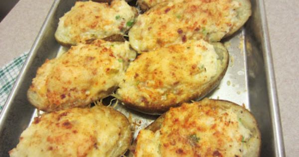Twice-Baked Potatoes recipe using The Laughing Cow Light Creamy Swiss