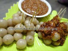 Resep Cilok Bandung Kenyal Empuk Bumbu Kacang Resep Ide Makanan Resep Masakan Indonesia