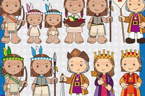60 Desc Clipart Descubrimiento De America Cristobal Colon Clipart Para Escuela Imagenes Para La Escuela Ilustra School Illustration Columbus Day Clip Art