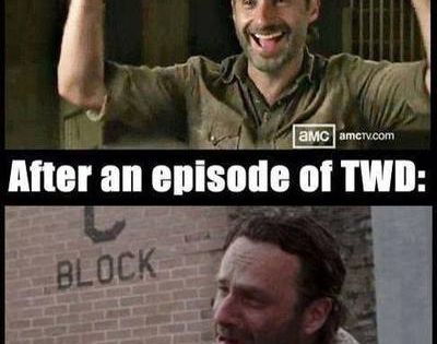 This is so me! thewalkingdead rickgrimes lol twd The Walking Dead