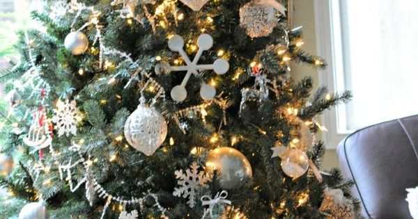 White Christmas Trees Creative Christmas Trees And Christmas Trees On