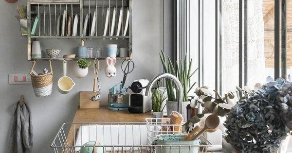 Ambiance vintage objets de r cup keuken interieurs en keuken bijkeuken - Mode keuken deco ...