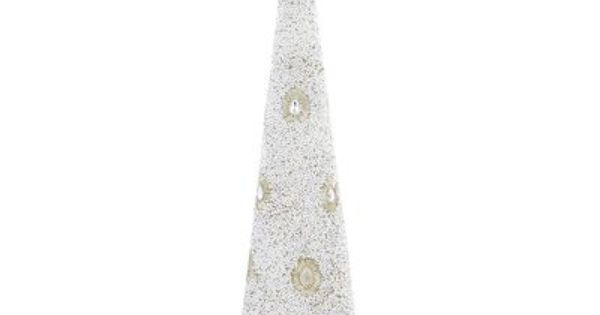 Beaded cone tree silver holiday pinterest cone trees resins