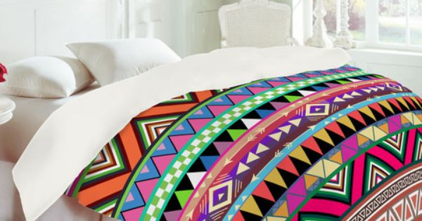 Bright Pattern Comforter :D