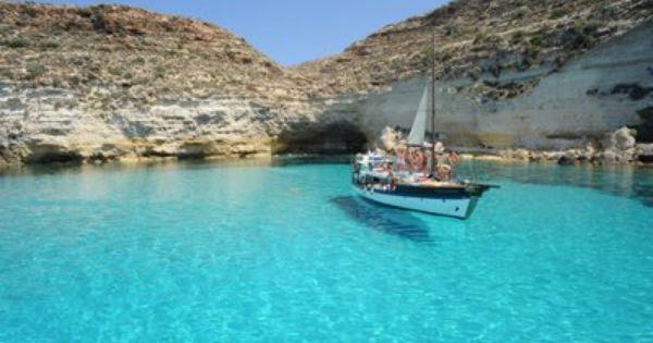Lampedusa Isola Mia Turismo Paisajes Viajes
