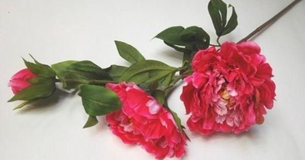 Piwonia Ozdobna Duza Sztuczne Kwiaty Piekna Plants Wreaths