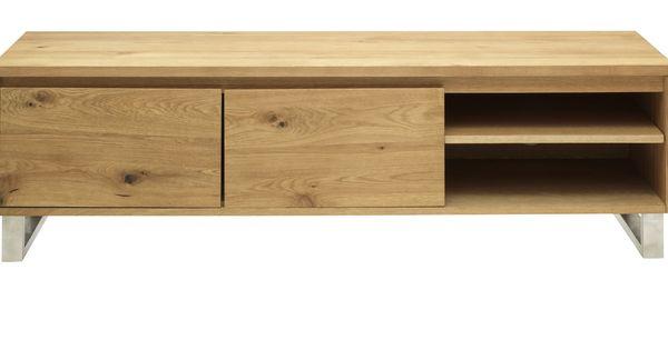 tv m bel hansen 2 t rig 4 f cher 1 tablar eiche furniert. Black Bedroom Furniture Sets. Home Design Ideas