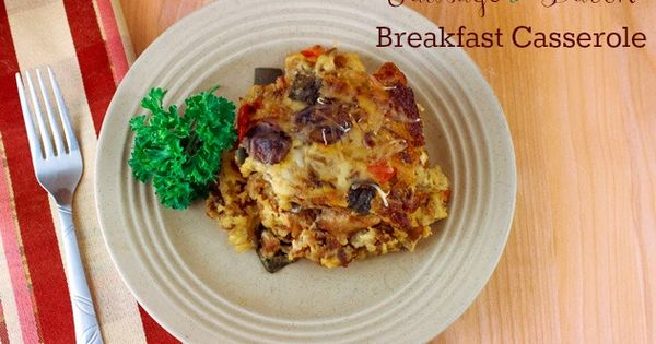Bacon Breakfast Casserole, Bacon Breakfast and Breakfast Casserole ...