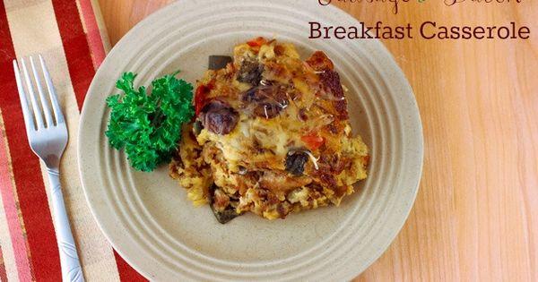 Bacon Breakfast Casserole, Bacon Breakfast and Breakfast Casserole ...