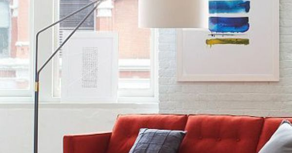Spectacular Savourez la beaut de la lampe arc en images Canapes Rouge and Salons