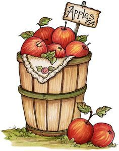 Fallen clipart Apple Falling Clipart #10 | Autumn painting, Fall ...