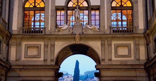 Galleria degli Uffizi Museum, Florence, Italy.