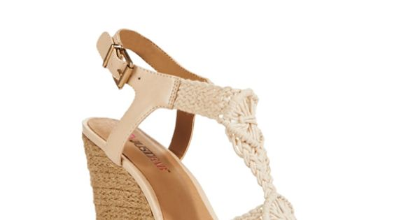 Eleanora by JustFab is where woven meets the wedge, the possibilities are endless.