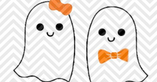 cute ghost halloween girl boy bowtie bow svg and dxf cut file  u2022 png  u2022 download file  u2022 cricut
