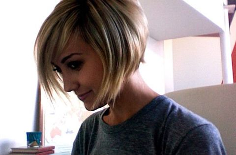 short hair bob - I'm considering this hair cut