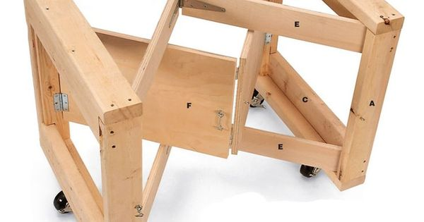 Diy Folding Table Base Plans How To Build A Table Base