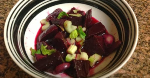 Beet salad, Beets and Celery on Pinterest