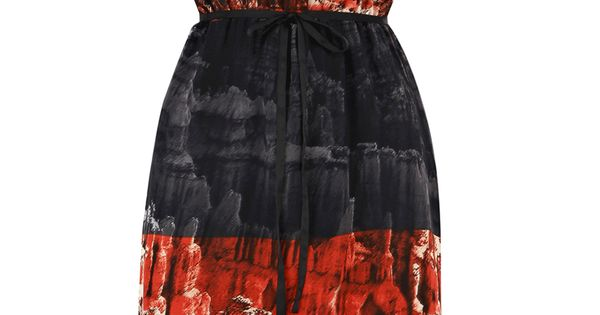 Fashion wish list: Dress with Grand Canyon print