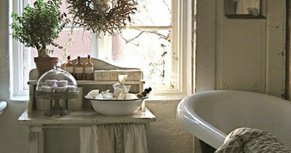 vintage stil badezimmer bath and wellness mein bad ist mein entspannungstempel pinterest. Black Bedroom Furniture Sets. Home Design Ideas