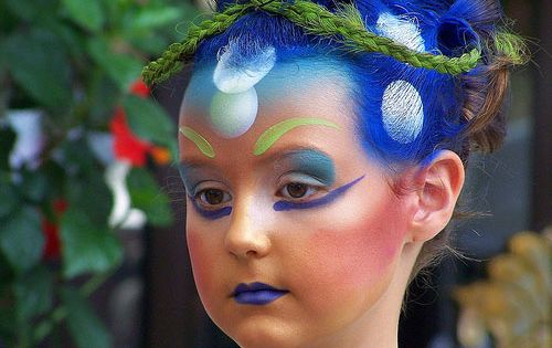 28 godess face painting