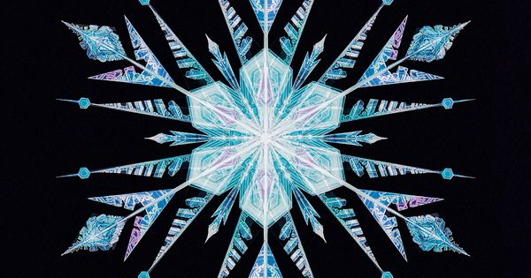 frozen snowflake elsa the art of frozen elsanna edit of elsa's snowflake