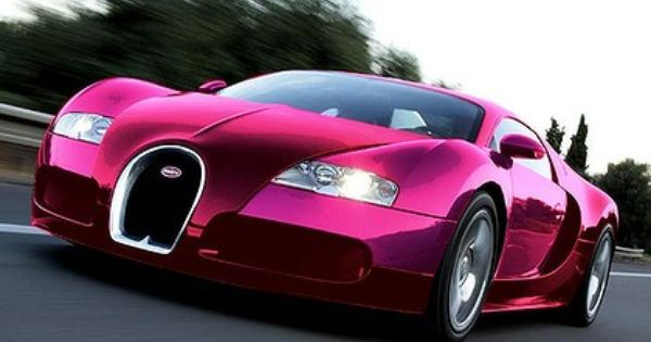 Bugatti Pink What She Drives Pinterest Bugatti