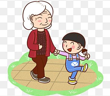 Cartoon Grandmother And Grandson Park Walking Png Transparent Bottom Cartoon Character Grandma Png Transparent Clipart Image And Psd File For Free Download Cartoon Cafe Posters Technology Theme