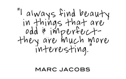 Embrace imperfection.